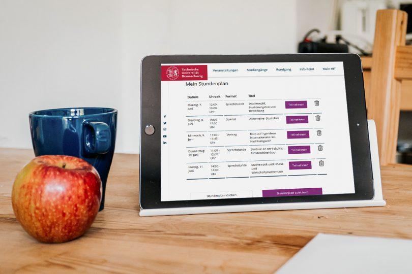 """Beim ersten Online-HIT können sich die Teilnehmenden ihr individuelles Programm zusammenstellen und unter """"Mein HIT"""" abrufen."""