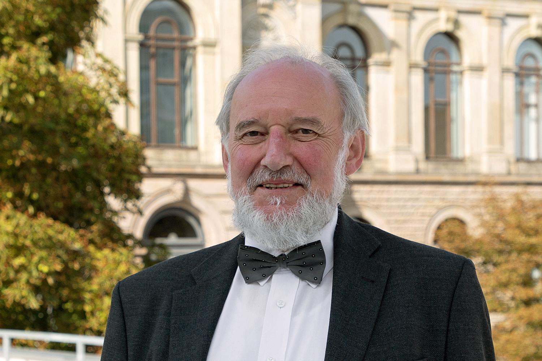 Professor Reinhold Haux wurde in den Ruhestand verabschiedet. Bildnachweis: Max Fuhrmann/TU Braunschweig