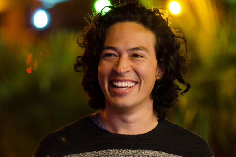 """Das bin ich, Alejandro oder auch """"El Patron"""" oder """"Smiley-Guy"""" (einige meiner Spitznamen) an einem Sommerabend in der Braunschweiger Innenstadt. Bildnachweis: Alejandro Mesa Heredia"""
